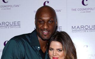 Divorțul dintre Lamar Odom și Khloe Kardashian a fost suspendat