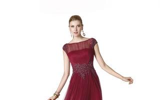Modă. 20 de rochii de seară în culorile toamnei. Care ţi se potriveşte?
