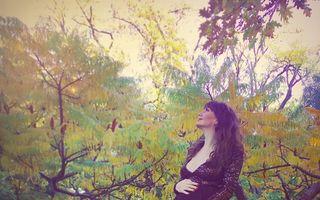 Artista Natalia Selegean va deveni mămică! Galerie FOTO