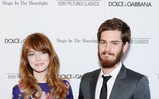 Emma Stone și Andrew Garfield se despart