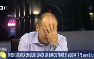 Emisiunea lui Banciu, încheiată brusc, după ce realizatorului i s-a făcut rău