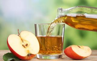 Sucurile de mere şi portocale sunt preferatele românilor