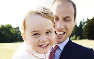 Cercetătorii britanici știu cum va arăta prințul George când va fi adult