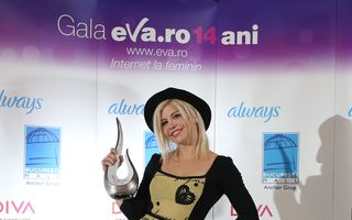 Gala Eva.ro: 14 ani de internet la feminin cu 33 de premii şi zeci de vedete!