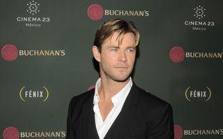 Chris Hemsworth a slăbit dramatic pentru un rol - FOTO