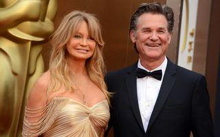 Goldie Hawn şi Kurt Russell se căsătoresc după 30 de ani de relaţie