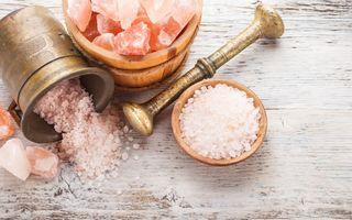 Dietă. De ce e mai bine să consumi sare roz de Himalaya. 7 beneficii