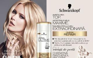 Schwarzkopf Essence ULTÎME: noul brand super-premium pentru îngrijirea părului, dezvoltat în exclusivitate cu supermodelul Claudia Schiffer