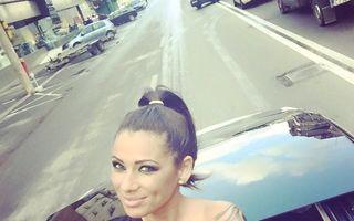 Roxana Vancea, iubita lui Bendeac, într-o ipostază sexy în poza de profil