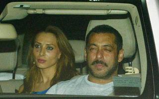 Iulia Vântur şi Salman Khan, fotografiaţi împreună