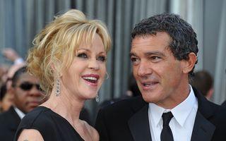 Banderas îi plătește pensie lunară de 65.000 de dolari lui Melanie Griffith