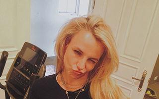 Britney Spears şi-a arătat abdomenul pe Instagram