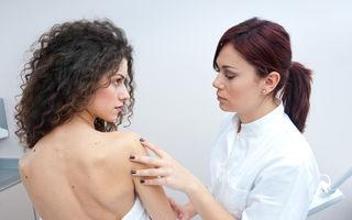 Sănătate. Cancerul de piele poate mutila dacă ajungi prea târziu la medic