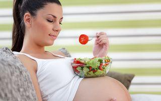 Dieta unei mămici în devenire: alimentaţia bio, mai bogată în nutrienţi