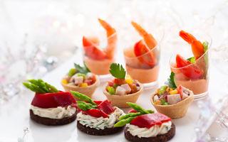 Reţete de Crăciun: 5 idei pentru aperitive uşoare pe care le faci în 15 minute