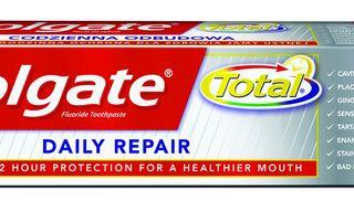 Dinți frumoși și sănătoși, fără efort, cu Colgate® Total Daily Repair