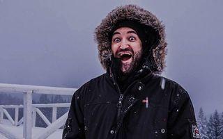 Iarna vedetelor. Smiley e fericit şi îşi împărtăşeşte bucuria cu fanii săi