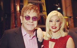 Elton John lucrează cu Lady Gaga la noul ei album