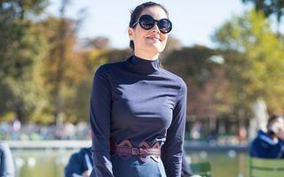Modă. Cum să porţi bluzele pe gât. 30 de ţinute din care să te inspiri