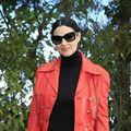 Roșu și negru. Monica Bellucci, sexy și elegantă la 51 de ani