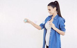Anca Serea, însărcinată pentru a cincea oară. Va naşte peste două luni
