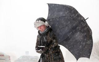 Alertă meteo: Vremea se răceşte brusc şi vin ninsorile