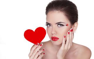 Frumuseţe. 50 de manichiuri perfecte pentru Ziua Îndrăgostiţilor. Încearcă-le!