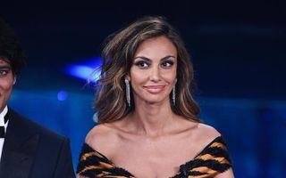 Mădălina Ghenea, apariţie spectaculoasă la Sanremo - FOTO