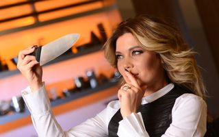 "Gina Pistol va prezenta emisiunea ""Chefi la cuțite"", la Antena 1"