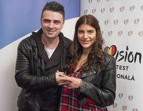 Cornel Ilie şi fiica lui Mădălin Voicu vor prezenta Eurovision