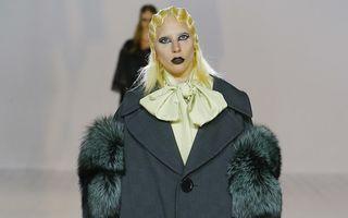 Lady Gaga a defilat pentru Marc Jacobs la Săptămâna Modei de la New York