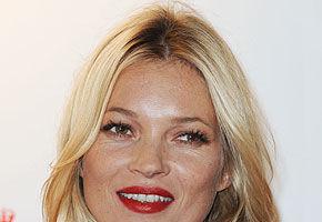 Kate Moss, accidentată la schi