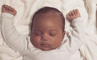 Kim Kardashian a publicat prima fotografie cu fiul său