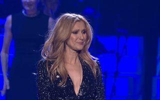 """Celine Dion şi-a plâns pe scenă soţul răpus de cancer: """"Vom fi mereu împreună"""""""