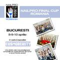 Cea mai prestigioasă competiţie de unghii tehnice, Nailpro, vine în România
