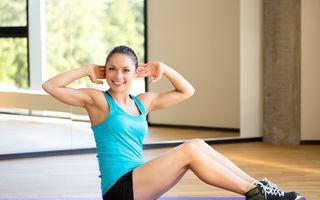 Fitness. 5 sfaturi ca să faci corect abdomenele şi să nu-ţi distrugi coloana