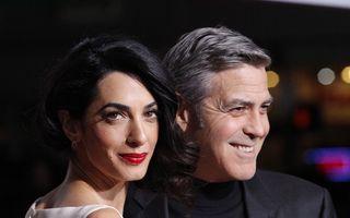 Soția lui George Clooney, amenințată cu moartea