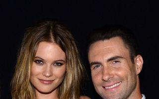 Adam Levine şi soţia sa aşteaptă primul lor copil
