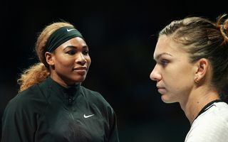Simona Halep, învinsă de Serena Williams