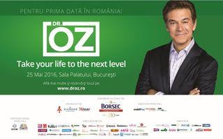 Biletele la conferinta gazduita de Dr. Oz, in Romania, se pot cumpara si de la Sala Palatului!