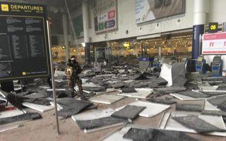 Două explozii au avut loc pe aeroportul din Bruxelles. Zeci de morţi