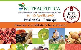 NUTRACEUTICA & DIET FOOD – 14-16 aprile Pavilion C4 Romexpo