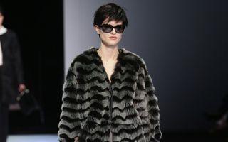Casa de modă Armani nu va mai folosi blana naturală în colecţiile sale
