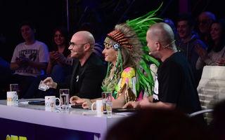 """Moment amuzant la  """"iUmor"""", emisiune ce va debuta pe 3 aprilie, la Antena 1, Cheloo şi Bendeac nu s-au putut vedea din cauza Deliei"""