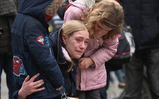 Scene emoţionante: Belgienii îşi plâng morţii şi promit că rămân uniţi