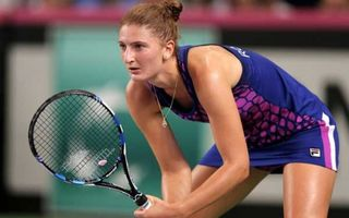 """Tenismena Irina Begu, numită """"ţigancă împuţită"""" de adversara ei, în timpul meciului"""