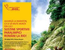 Maratonul DHL Ștafeta Carpaților susține cel mai mare număr de sportivi paralimpici români din istorie, calificați la Jocurile Paralimpice de la Rio!