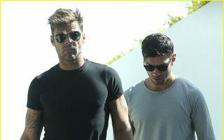 Ricky Martin are un nou iubit? Cei doi au fost surprinşi în Malibu