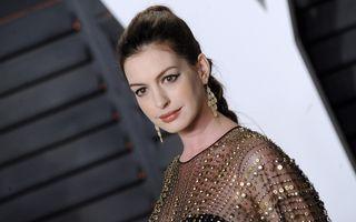 Actriţa Anne Hathaway a născut un băieţel