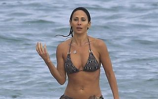 În formă. Natalie Imbruglia, siluetă impecabilă la 41 de ani
